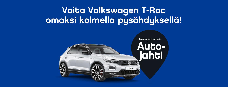 Voita Autojahdissa Volkswagen T-Roc omaksi!