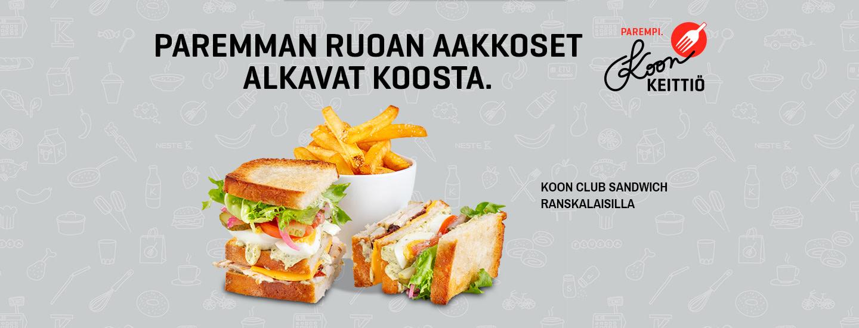 Paremman ruoan aakkoset alkavat Koosta – Koon keittiön ruokalista on uudistunut!