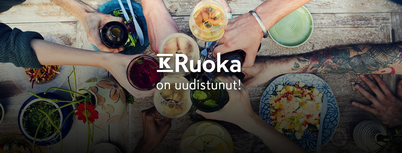 K-Ruoka.fi on uudistunut