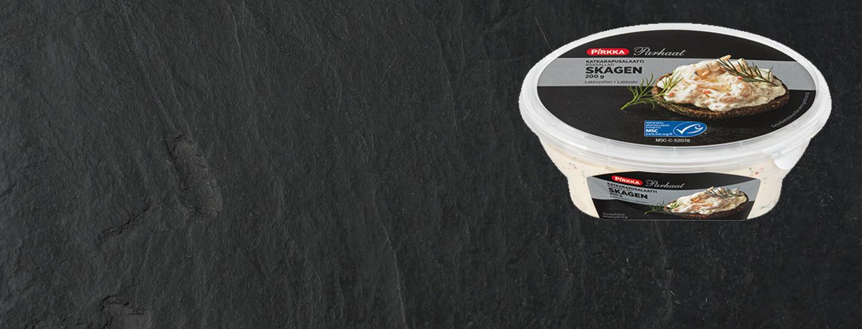 Takaisinveto: Pirkka Parhaat katkarapusalaatti skagen 200 g