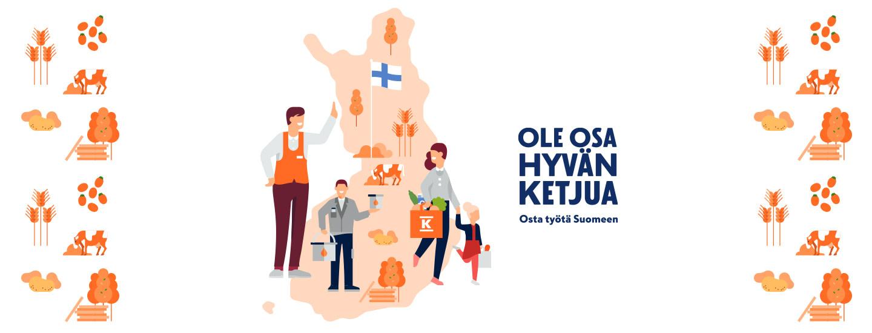 Teet hyvää ostamalla suomalaista
