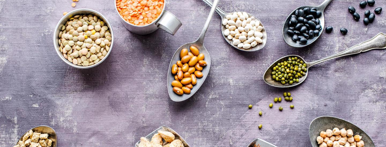 Linssit, herneet ja rouheet - ruokaisat kasviproteiinit