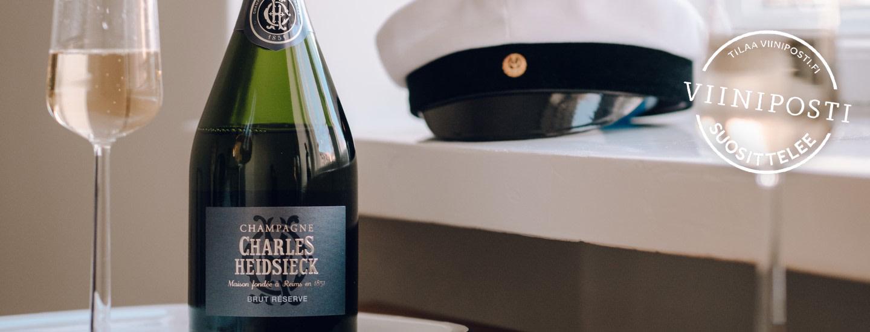 Parhaat viinit ja kuohuvat valmistujaisten noutopöytään