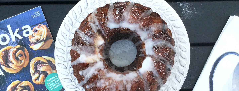 Pala kakkua: Pullat uunissa