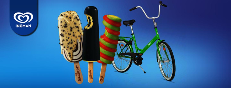 Osta jäätelö K-Supermarketista ja voita Jopo!
