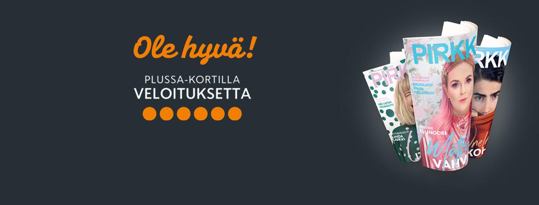 Plussa-kortilla veloitukseton Pirkka-lehti Pohjois-Suomen K-ruokakaupoista