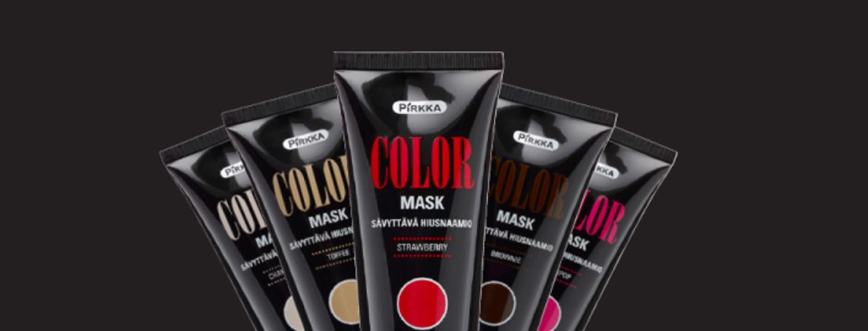 Pirkka-sarjan sävyttävät Color Mask -hiusnaamiot
