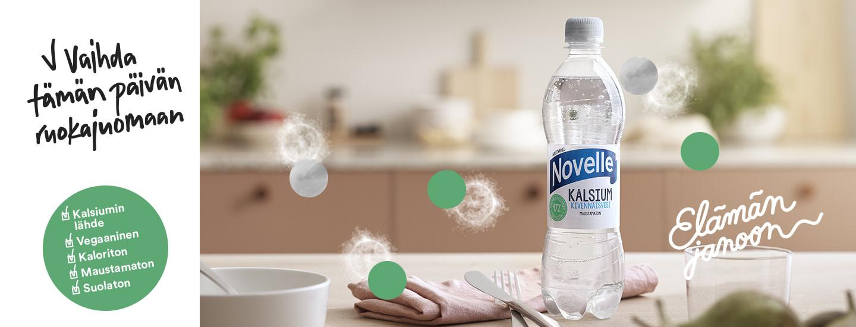 Hartwall Novelle Kalsium: Tiedätkö, mistä kalsiumia saa?