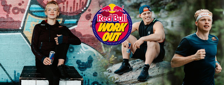 Red Bull Workout - näillä treeniohjelmilla treenaat kuin huippu-urheilija