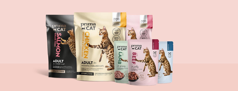 Voita vuoden PrimaCat-kissanruoat