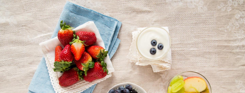 Lasten makukoulussa hedelmät ja marjat