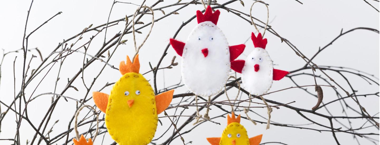Kolme vinkkiä pääsiäisaskarteluun lasten kanssa