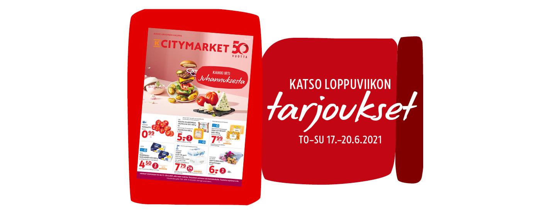 K-Citymarketin tarjoukset ja edut