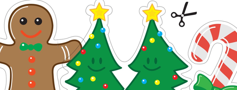 Tulosta hauskat joulupakettikortit