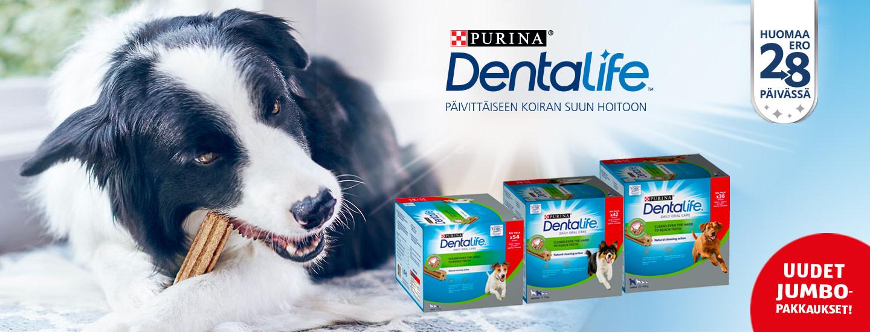 Osallistu PURINA DentaLife -kilpailuun ja voita hampaiden hoitotuotteita sekä koiranherkkuja!
