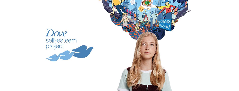 Dove Self-Esteem Project - tavoitteena hyvä itsetunto