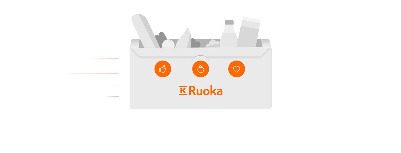 Anvisning − Så här beställer du i webbutiken K-Ruoka
