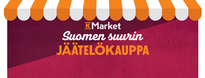 Suomen suurin jäätelökauppa
