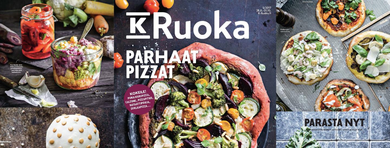K-Ruoka 5/2017 -lehden reseptit