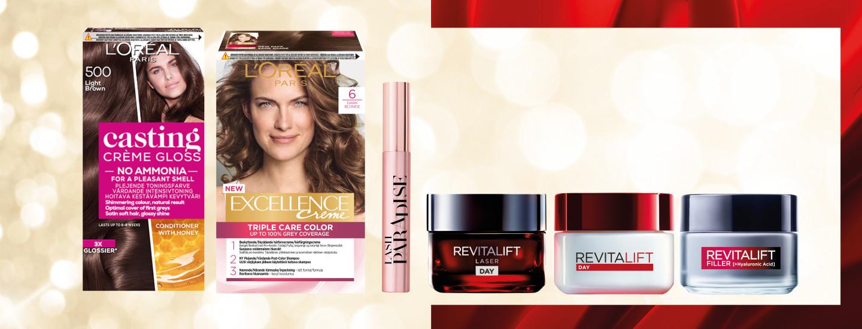 Äänestä suosikki L'Oréal Paris -tuotettasi ja voita 300€ arvosta kosmetiikkaa!