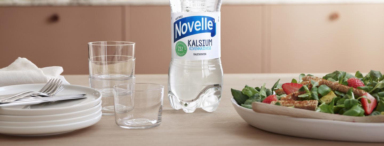 Osallistu Novelle Kalsium -kilpailuun ja voita kokki valmistamaan illallinen kotiisi