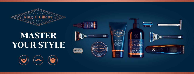 King C. Gillette ja parranajon parhaat tuotteet