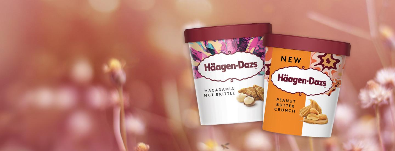 Ylellisen laadukkaat Häagen-Dazs -jäätelöt
