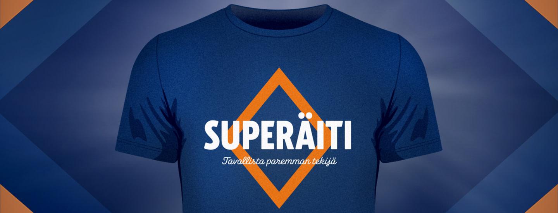Superäiti t-paita arvonta