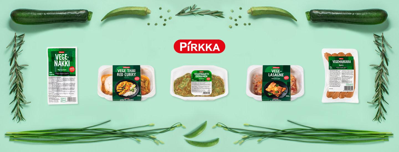 Vegaaniset Pirkka-tuotteet