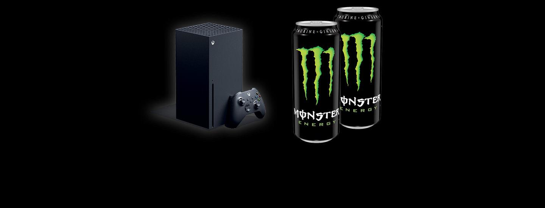 Voita Monsterilla Xbox-pelikonsoli
