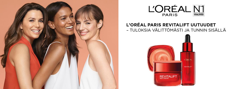 L'Oréal Paris Revitalift -uutuudet