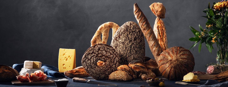 Monipuolinen valikoima leipää ja leivonnaisia K-Supermarketistasi