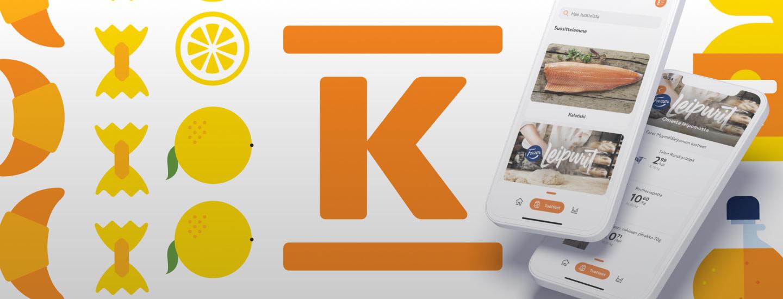 K-Ruoka-sovelluksen testiversio