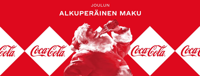 Etsi joulupukin kadottama Coca-Cola-jouluneule sivuiltamme ja voita!