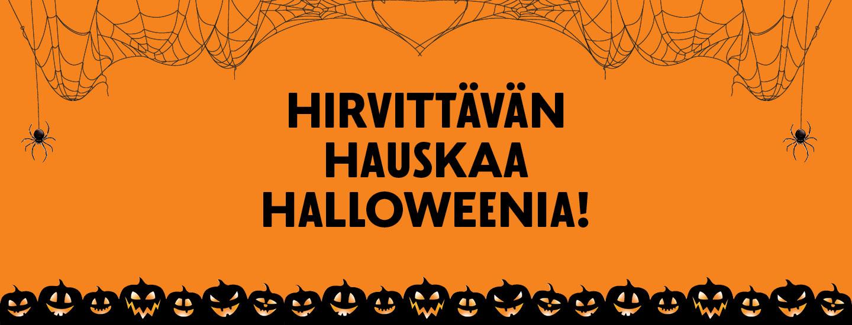 Halloween-juhlahumua kotoa käsin! Näin luot hirveän hyvän juhlapäivän