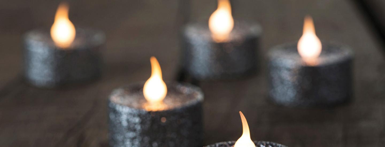 Led-kynttilällä parannat huoneilmaa ja paloturvallisuutta