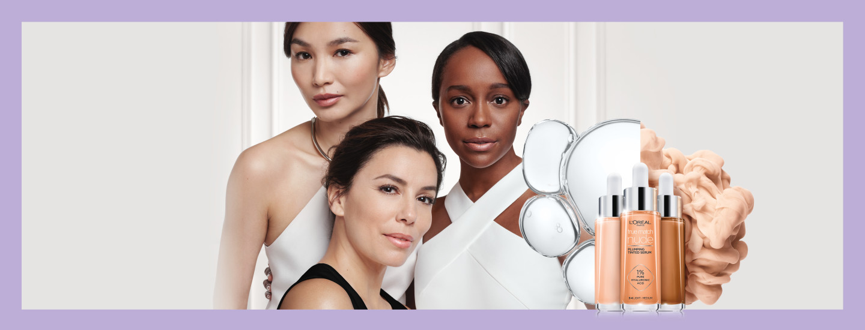 Vapauta hehkusi L'Oréal Paris hyaluronihappo -tuotteilla