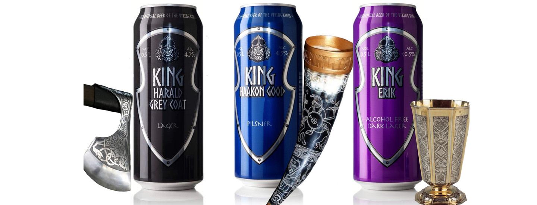 """The Norden Kings Beer - """"legend begins here"""""""
