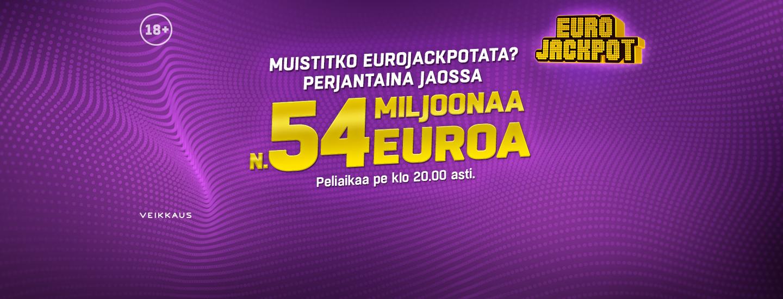 Eurojackpot K-Ruokakaupastasi