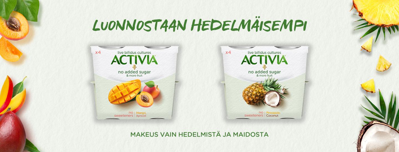 Mitä hedelmiä olisi unelmiesi jogurtissa? Vastaa ja voit voittaa Polar Vantage -älykellon.