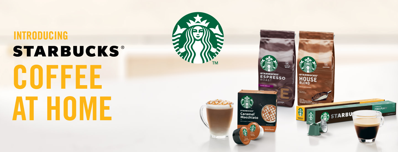Voita Nescafé Dolce Gusto Genio -kahvikone ja Starbucks-kahveja vuodeksi