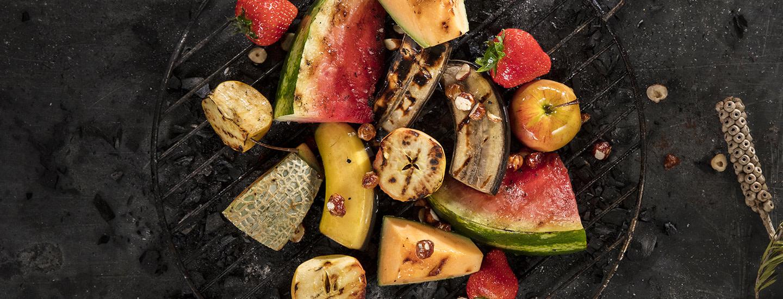 Herkulliset grillatut hedelmät