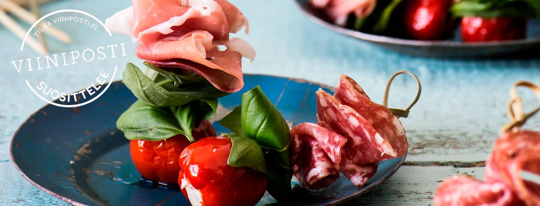 Viinit italialaisille illallismenuille