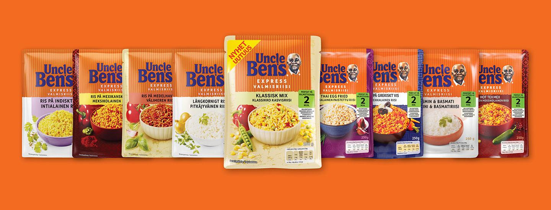 Voita Uncle Ben's -tuotepaketti