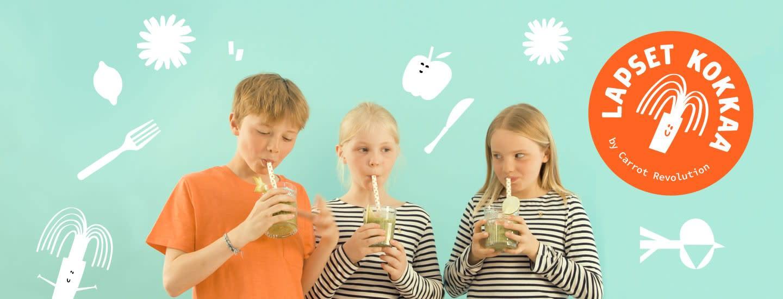 Nyt lapset surruttamaan smoothieita! Tilaa smoothie-ainekset helposti kotiovellesi