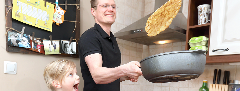 K-kauppiaan keittiössä: Harri Kulju