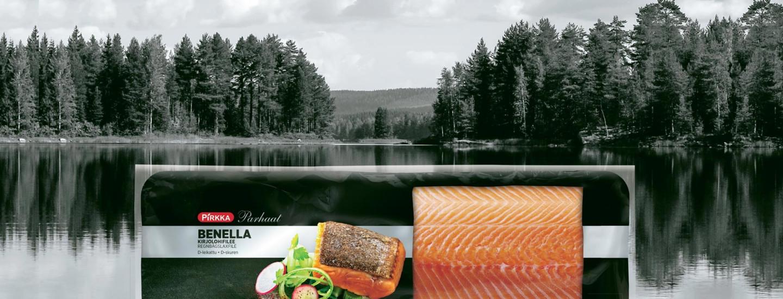Pirkka Parhaat Benella kirjolohifilee - hyvää tekevät kalat