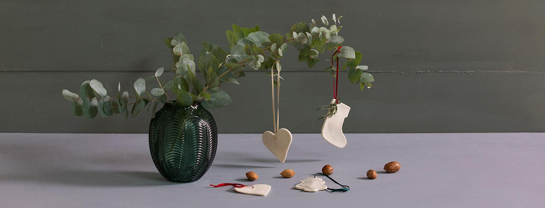 Askartele joulukoristeet taikataikinasta