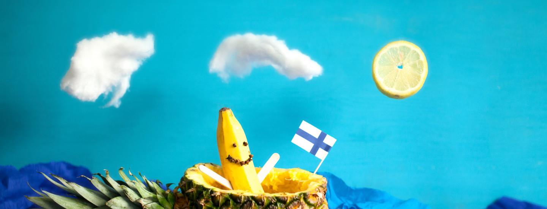 Lasten makusatu: Reilun ja Rohkean banaanin hurja meriseikkailu