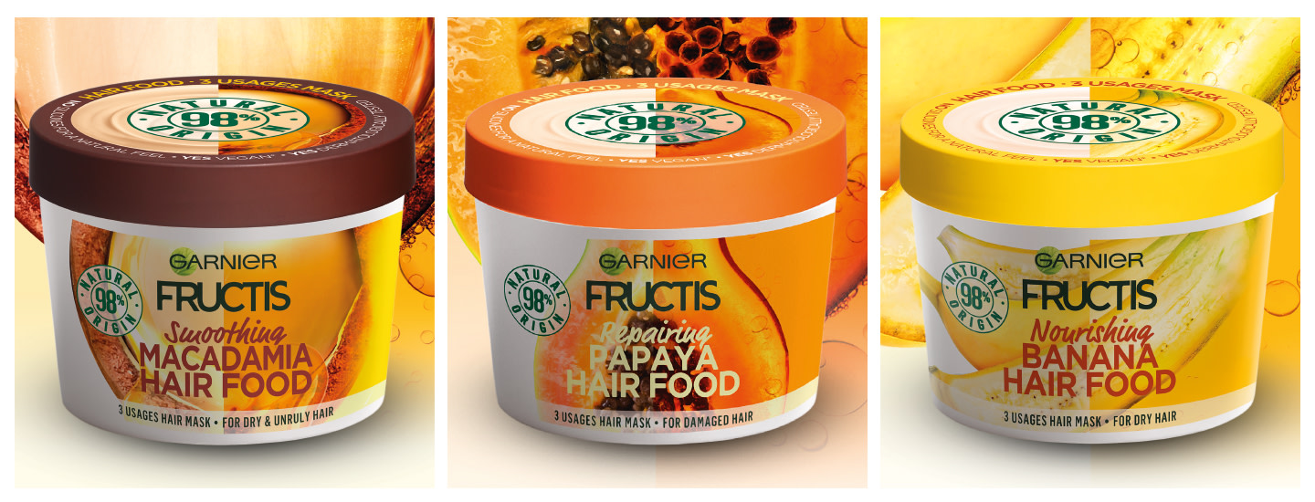 Uusi Fructis Hair Food